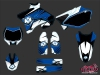 Yamaha 125 YZ Dirt Bike Factory Graphic Kit