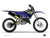 Kit Déco Moto Cross Flow Yamaha 125 YZ Jaune