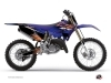 Kit Déco Moto Cross Flow Yamaha 125 YZ Orange
