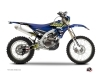 Kit Déco Moto Cross Flow Yamaha 250 WRF Jaune