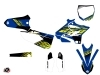 Kit Déco Moto Cross Flow Yamaha 250 YZ Jaune