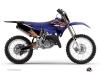 Yamaha 250 YZ Dirt Bike Flow Graphic Kit Orange