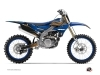 Yamaha 250 YZF Dirt Bike Flow Graphic Kit Orange