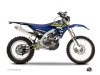 Kit graphique Moto Cross Flow Yamaha 450 WRF Jaune