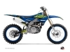 Kit Déco Moto Cross Flow Yamaha 450 YZF Jaune