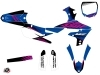 Yamaha 450 YZF Dirt Bike Flow Graphic Kit Pink