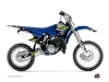 Yamaha 85 YZ Dirt Bike Flow Graphic Kit Yellow