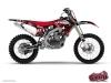 Kit Déco Moto Cross Freegun Yamaha 250 YZF Rouge