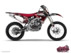 Yamaha 85 YZ Dirt Bike Freegun Graphic Kit Red