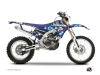 Yamaha 450 WRF Dirt Bike Freegun Eyed Graphic Kit Red