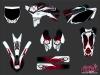 Kit Déco Moto Cross Graff Yamaha 250 YZF Rouge