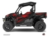 Polaris GENERAL 1000 UTV Graphite Graphic Kit Black Red