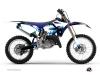 Kit Déco Moto Cross Hangtown Yamaha 250 YZ Bleu