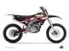Kit graphique Moto Cross Hangtown Yamaha 250 YZF Rouge