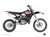 Yamaha 85 YZ Dirt Bike Hangtown Graphic Kit Red