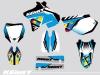 Yamaha 125 YZ Dirt Bike Kenny Graphic Kit