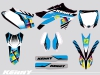 Yamaha 250 YZF Dirt Bike Kenny Graphic Kit