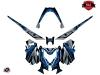 Skidoo REV XM Snowmobile Klimb Graphic Kit Blue