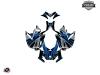 Skidoo REV XP Snowmobile Klimb Graphic Kit Blue