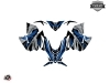 Yamaha SR Viper Snowmobile Klimb Graphic Kit Blue
