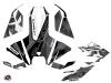 Polaris Slingshot Roadster Knight Graphic Kit Black