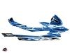 Yamaha GP 1800 Jet-Ski Mission Graphic Kit Blue