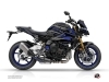 Yamaha MT 10 Street Bike Night Graphic Kit Black Blue