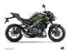 Kawasaki Z 900 Street Bike Night Graphic Kit Black Green