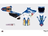 Kit Déco Moto Cross Replica Team Pichon Yamaha 450 YZF 2015