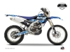 Kit graphique Moto Cross Predator Yamaha 250 WRF Bleu LIGHT