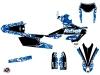 Kit graphique Moto Cross Predator Yamaha 250 WRF Bleu