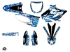 Yamaha 250 YZ Dirt Bike Predator Graphic Kit Blue