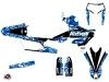 Kit Déco Moto Cross Predator Yamaha 450 WRF Bleu