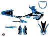 Kit Déco Moto Cross Predator Yamaha 450 YZF Bleu