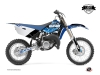 Yamaha 85 YZ Dirt Bike Predator Graphic Kit Blue LIGHT