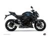 Suzuki GSX-S 1000 Street Bike Profil Graphic Kit Black Blue