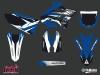 Yamaha 125 YZ Dirt Bike Pulsar Graphic Kit