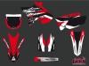 Yamaha 125 YZ Dirt Bike Pulsar Graphic kit UFO Relift Red