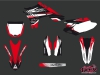 Kit Déco Moto Cross Pulsar Yamaha 450 YZF Rouge
