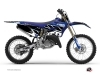 Yamaha 125 YZ Dirt Bike Replica Graphic Kit Blue