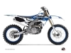 Yamaha 250 YZF Dirt Bike Replica Graphic Kit White Blue