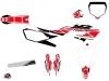Kit Déco Moto Cross Replica Yamaha 450 YZF Rouge