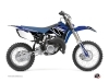 Yamaha 85 YZ Dirt Bike Replica Graphic Kit Blue