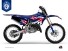 Yamaha 125 YZ Dirt Bike Replica France 2018 Limited Edition Graphic Kit
