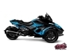 Can Am Spyder RT Roadster Replica Graphic Kit Blue