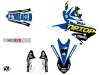 Yamaha 250 YZF Dirt Bike Replica Team Tip Top Graphic Kit LIGHT
