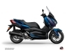 Yamaha XMAX 400 Maxiscooter Replica Graphic Blue Black
