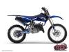 Yamaha 125 YZ Dirt Bike Slider Graphic Kit