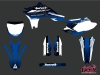 Yamaha 450 YZF Dirt Bike Slider Graphic Kit