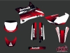 Yamaha 85 YZ Dirt Bike Slider Graphic Kit Red